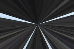 Coche crepuscular dramático ligero del fondo largo stock de ilustración