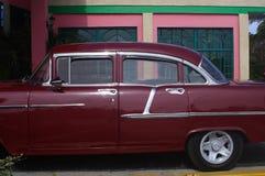Coche cubano Fotografía de archivo libre de regalías