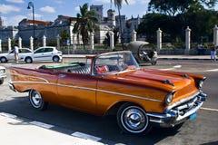 Coche cubano Imágenes de archivo libres de regalías