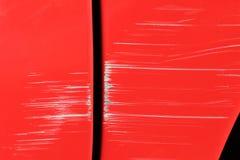 Coche dañado Imagen de archivo libre de regalías