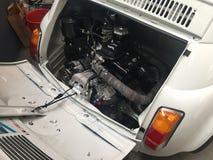 Coche de Abarth 500 Fiat Fotografía de archivo libre de regalías