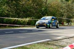Coche de adaptación de la reunión de Renault Clio R3T Imagen de archivo