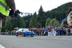 Coche de adaptación de la reunión de Subaru Impreza WRX Imagen de archivo
