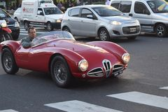 Coche de Alfa Romeo imagen de archivo