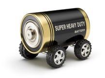 Coche de batería Imagen de archivo libre de regalías