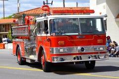 Coche de bomberos Imagenes de archivo