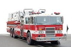 Coche de bomberos americano Imágenes de archivo libres de regalías