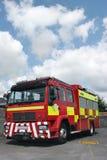 Coche de bomberos británico Imágenes de archivo libres de regalías