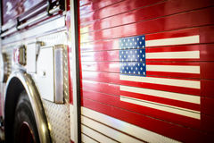 Coche de bomberos de Chicago Imagen de archivo