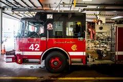 Coche de bomberos de Chicago Fotos de archivo