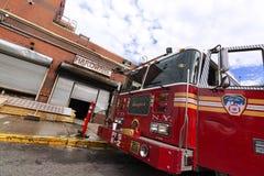 Coche de bomberos de FDNY Imagen de archivo libre de regalías