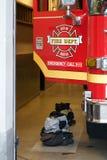 Coche de bomberos de Seattle Fotos de archivo libres de regalías