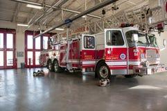 Coche de bomberos del Oklahoma City imágenes de archivo libres de regalías