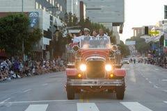 Coche de bomberos del vintage Fotografía de archivo libre de regalías
