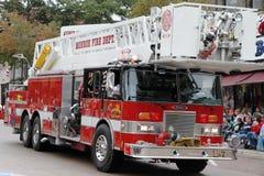 Coche de bomberos municipal Foto de archivo