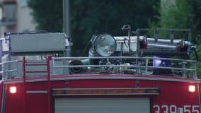Coche de bomberos preparado para rescatar Fotografía de archivo libre de regalías