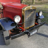 Coche de bomberos viejo del contador de tiempo de Magirus del cuerpo de bomberos en Wassenaar Foto de archivo libre de regalías
