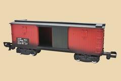 Coche de carga modelo del tren Foto de archivo libre de regalías