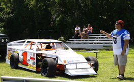 coche de carreras Foto de archivo