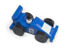 Coche de carreras azul II Imagenes de archivo