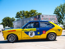 Coche de carreras clásico de Opel Kadett Foto de archivo libre de regalías