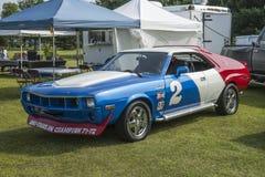 Coche de carreras de Amx Foto de archivo libre de regalías