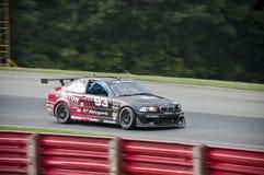 Coche de carreras de BMW M3 Fotos de archivo libres de regalías