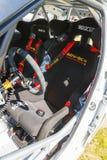 Coche de carreras de Fabia S2000 Imágenes de archivo libres de regalías