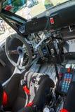 Coche de carreras de Fabia S2000 Imagen de archivo libre de regalías