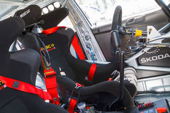 Coche de carreras de Fabia S2000 Imagen de archivo