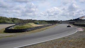Coche de carreras 2000 de FIAT Abarth de la fórmula almacen de metraje de vídeo