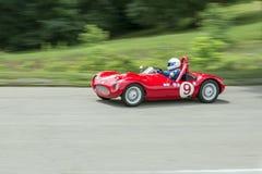 Coche de carreras 9 de Grand Prix del vintage imagen de archivo