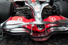 Coche de carreras de la fórmula 1 de Mercedes MCLaren Foto de archivo