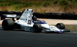 Coche de carreras de la fórmula 500 - Lola T400 Imágenes de archivo libres de regalías