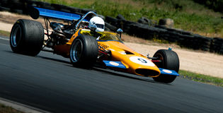 Coche de carreras de la fórmula 500 - McLaren M10 Imagen de archivo