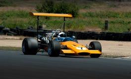 Coche de carreras de la fórmula 500 - McLaren M10 Foto de archivo libre de regalías