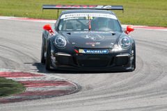 COCHE DE CARRERAS de la taza GT3 de Porsche 911 Imagen de archivo libre de regalías