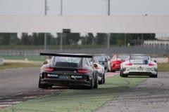 COCHE DE CARRERAS de la taza GT3 de Porsche 911 Imágenes de archivo libres de regalías