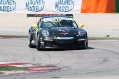 COCHE DE CARRERAS de la taza GT3 de Porsche 911 Fotos de archivo