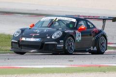 COCHE DE CARRERAS de la taza GT3 de Porsche 911 Imagenes de archivo