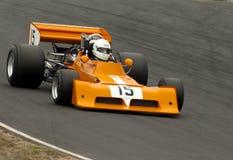 Coche de carreras de marzo F1 Fotografía de archivo libre de regalías