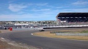 Coche de carreras de Minardi F1 metrajes
