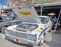 Coche de carreras de Plymouth imagenes de archivo
