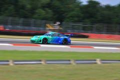 Coche de carreras de Porsche GT Fotos de archivo libres de regalías