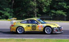 Coche de carreras de Porsche GT3 Foto de archivo