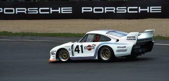 Coche de carreras de Porsche 935-77 Martini Le Mans Imagenes de archivo