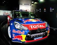 Coche de carreras del DS3 WRC de Citroen Fotografía de archivo libre de regalías
