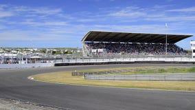 Coche de carreras F1 almacen de video