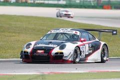 Coche de carreras GT3 de PORSCHE 997 Imagenes de archivo