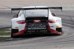 Coche de carreras GT3 de PORSCHE 997 Fotografía de archivo